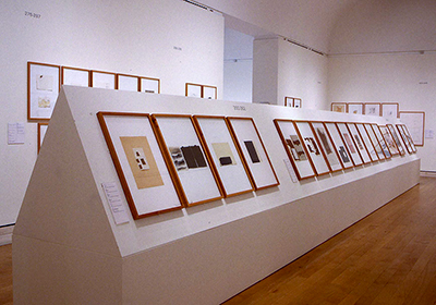 exhibition view, Joseph Beys Drawings, Royal Academy London