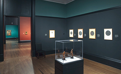 Gallery View, Jan Gossaert's Renaissance, National Gallery London, design by Calum Storrie