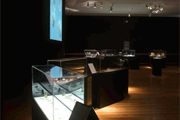 exhibition view, Leopold and Rudolph Blaschka : The Glass Menagerie, Design Museum