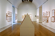 exhibition view, Joseph Beuys Drawings, Royal Academy London