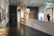 gallery view, Madness & Modernity exhibition, Wein Museum Vienna, design by Calum Storrie