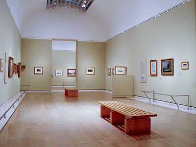 exhibition view, The Unknown Monet, Royal Academy London